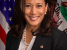Official US Senate portrait of Kamala Harris